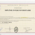 Laser Diploma Paris University France