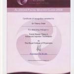 Master Class Fillers Certificate